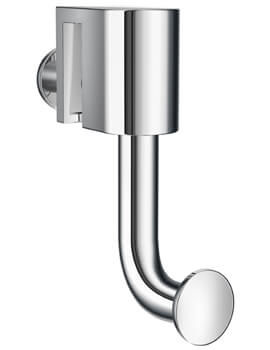 Smedbo Sideline Hook For Glass Shower Panel