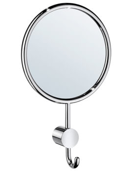 Smedbo Art Mirror With Hook