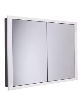 Roper Rhodes Scheme 1040 x 120mm White Recessed Cabinet
