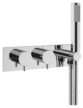 Crosswater MPRO Thermostatic Bath Shower Valve With Kit