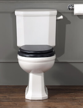 Silverdale Empire 432 x 711mm Close Coupled WC Pan And Cistern