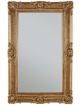 Heritage Chesham Grand 1420 x 2240mm Amber Gold Polyurethane Framed Mirror
