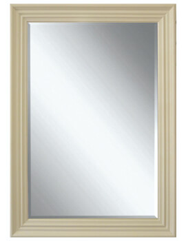 Heritage Edgeware 660 x 910mm Cream Wooden Framed Mirror