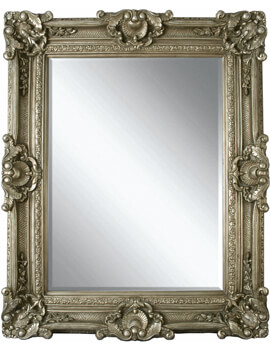 Heritage Chesham Grand 1420 x 2240 Pewter Silver Polyurethane Framed Mirror