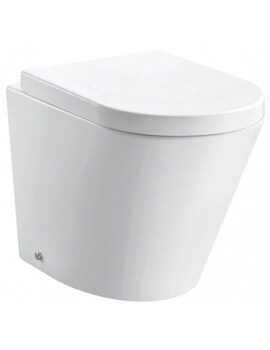 Pura Arco Rimless Back To Wall WC Pan 520mm
