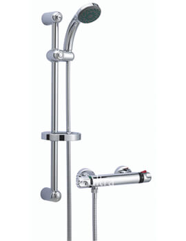 Beo Glade Thermostatic Bar Shower With Kit