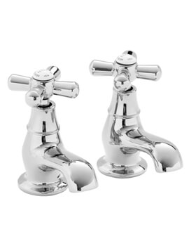 Heritage Ryde 114mm Pair Of Bath Pillar Taps