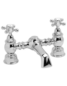Heritage Hartlebury Deck Mounted Bath Filler Tap