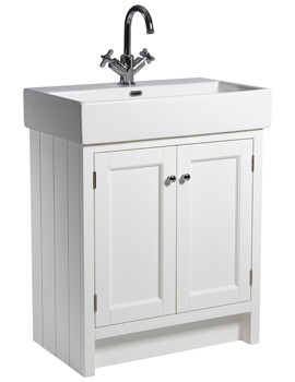 Roper Rhodes Hampton 700mm 2 Door Countertop Unit With Basin