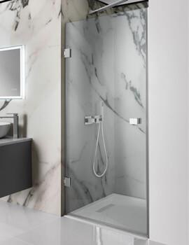Simpsons Zion 800mm Hinged Shower Door