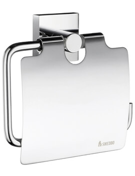 Smedbo House Toilet Roll Holder With Lid