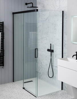 Simpsons MPRO Single Slider 1400mm Shower Door