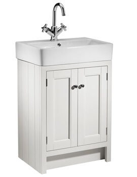 Roper Rhodes Hampton 550mm 2 Door Countertop Unit With Basin
