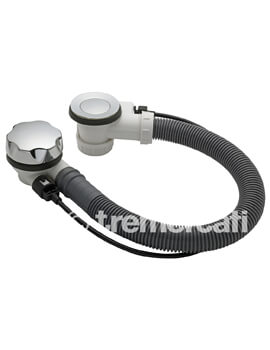 Tre Mercati Automatic Bath Pop Up Waste With Stop Device And Solid Plug