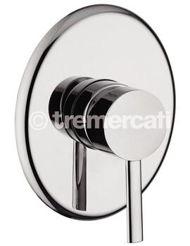 Tre Mercati Bella Concealed Manual Shower Valve Chrome