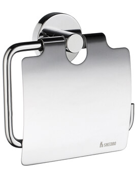 Smedbo Home Toilet Roll Holder With Cover