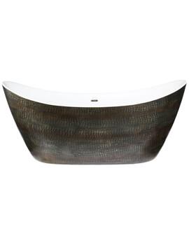 Heritage Alderley 1730 x 730mm Freestanding Acrylic Double Ended Bath