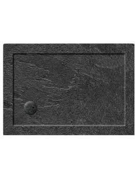 Simpsons Rectangular Grey Slate 35mm Acrylic Shower Tray 1000 x 800mm