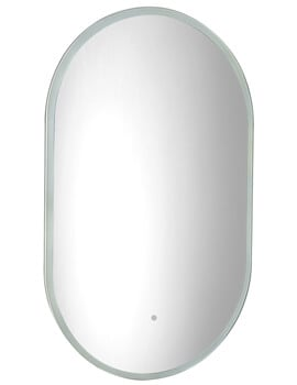 Roper Rhodes Eminence 500 x 800mm Illuminated Pill Mirror