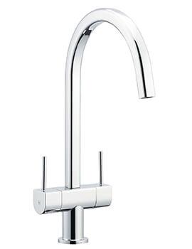 Astracast Aquada Twin Lever Kitchen Sink Mixer Tap