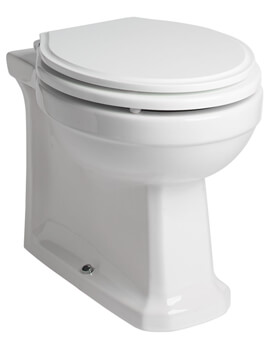 Roper Rhodes Harrow Back To Wall WC Pan With Soft Close Seat