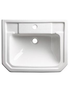 Roper Rhodes Harrow 550mm 1 Taphole Semi-Countertop Basin