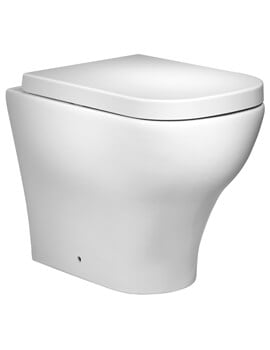 Roper Rhodes Version 550mm Back To Wall WC Pan With Soft Close Seat