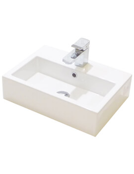 Saneux Matteo 500mm No Tap Hole Washbasin