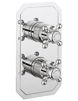 Crosswater Belgravia Crosshead Slimline 1500 Thermostatic Shower Valve With Diverter