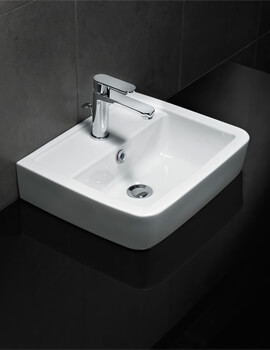 Silverdale Henley 450 x 370mm Single Tap Hole Countertop Basin