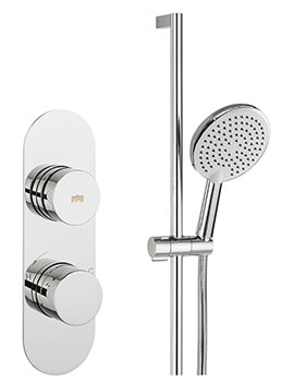 Crosswater Dial Valve 1 Control With Central Trim Shower Kit