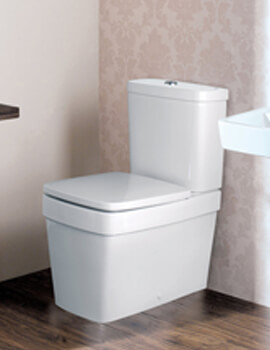 Silverdale Henley Close Coupled WC Pan And Cistern