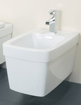 Silverdale Henley Wall Mounted Bidet 570mm