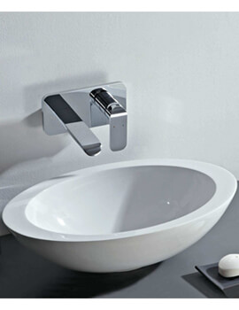Phoenix 530mm Oval Counter Top Mineral Cast Basin