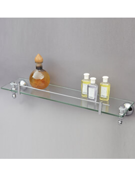 Phoenix Traditional Glass Shelf 500 x 120mm