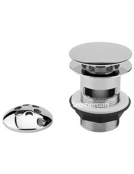 Tre Mercati 1 1-2 Inch Bath Pop Up Waste With Mushroom Plug