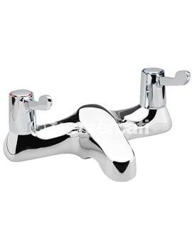 Tre Mercati Capri Lever Deck Bath Filler Tap With 3 Inch Lever