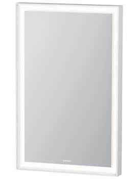 Duravit L Cube 450mm Mirror With LED Lighting