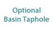 Optional Basin Tapholes