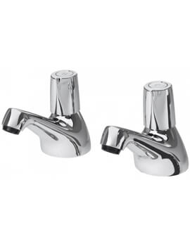 Triton Exe Pair Of Bath Taps With Knob Handle