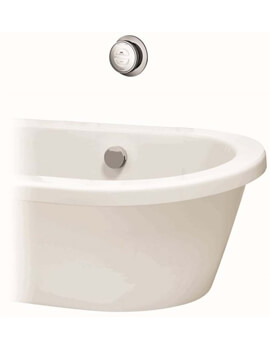 Aqualisa Rise Smart Bath With Overflow Filler - HP Or Combi