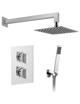 Vado Notion Thermostatic Shower Valve With Shower Kit