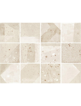 Dune Minimal Chic Emporio 20 x 20cm Agnes Natural Floor And Wall Tile