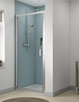 Aqualux Origin Recess Pivot Shower Door