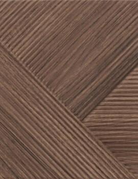 Dune Shapes 3 Stripes Mix Oak 25 x 25cm Ceramic Wall Tile