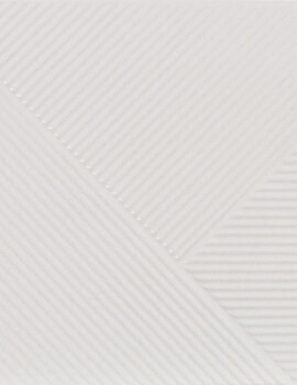 Dune Shapes 3 Stripes Mix Glacier 25 x 25cm Ceramic Wall Tile