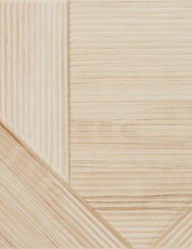 Dune Shapes 3 Stripes Mix Bamboo 25 x 25cm Ceramic Wall Tile