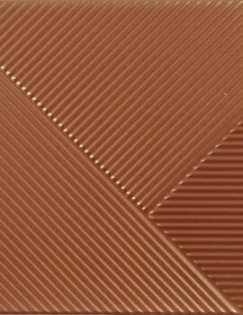 Dune Shapes 3 Stripes Mix Copper 25 x 25cm Ceramic Wall Tile