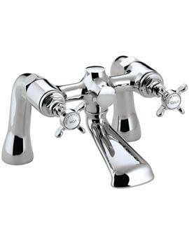 Bristan 1901 Chrome Bath Filler Tap