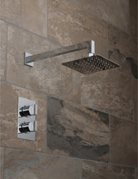 Vado Notion 1 Outlet Thermostatic Shower Valve With Aquablade Shower Head